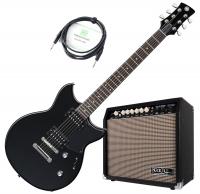 Yamaha RS320BST Revstar E-Gitarre Black Steel Verstärker Set