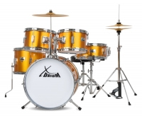 XDrum Session Junior Pro Set de batterie Sunset Gold Sparkle (4-9 ans)