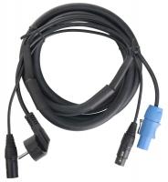Pronomic Stage EUPPD-2.5 Hybridkabel Schuko/Powercon kompatibel + DMX 3-polig, 2,5m