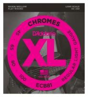 D'Addario ECB81 Chromes Bass