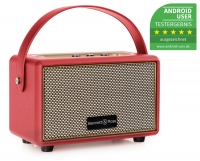 Bennett & Ross BB-820RD Blackmore Altavoz Junior con batería y Bluetooth color Rojo