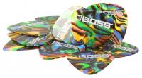 Boss BPK-12-AM Zelluloid Plektrum Medium 12er Pack Abalone