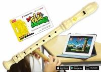 Voggenreiter Flute Master mit Blockflöte Deutsch, Kunststoff