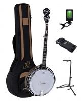 Ortega OBJ750-MA Falcon Banjo Nat. Ahorn Set