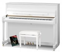 Kawai K-200 WH/P Klavier Set Weiß