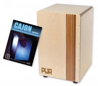 PUR Cajon PC2279 Compact QS Zebrano Set + Schule