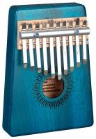 Sela SE 244 Kalimba Mahagoni 10 Blau