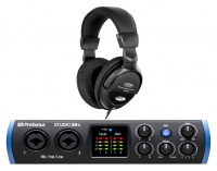 PreSonus Studio 24c USB-C Audio Interface Set