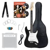Rocktile Banger's Pack E-Gitarren Set, 8-teilig Black - unvollständig!