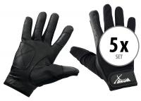 5er Set XDrum Drummer Handschuhe L lang