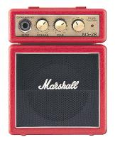 Marshall MS-2R Microben Miniamp Rot