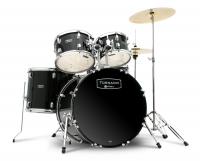 Mapex Tornado Stage Drumset Black mit Becken