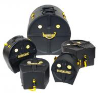 """Hardcase HROCKFUS-3 Drumset Case Set 22"""", 10"""", 12"""", 16"""" & 14"""""""