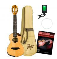 Flight Victoria EQ-A Tenor Ukulele Set