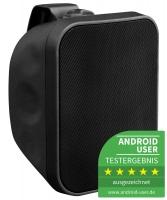 Pronomic OLS-5 BK Outdoor-Lautsprecher schwarz 80 Watt - Retoure (Zustand: sehr gut)