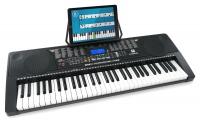 Teclado McGrey LK-6150 de 61 teclas iluminables y reproductor de MP3