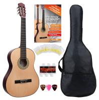 Classic Cantabile Acoustic Series AS-851 1/2 Konzertgitarre Starterset - Retoure (Zustand: gut)
