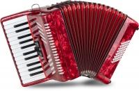 "Classic Cantabile Accordéon 48 basses ""Secondo V"" rouge"