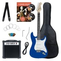 Rocktile Banger's Pack E-Gitarren Set, 8-teilig Blue - Retoure (Zustand: gut)