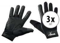 Set de 3 XDrum batteur gants L long