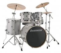 Ludwig Evolution Fusion 1 Shellset Silver/White Sparkle