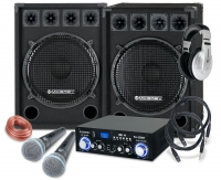 McGrey DJ Karaoke Komplettset Party-2500 1600W