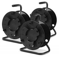 Pronomic KT-100 cable reel (empty) 3-piece set