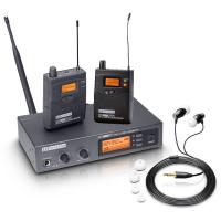 LD Systems MEI 1000 G2 SET inkl. 2. Bodypack - Aussteller (Zustand: akzeptabel)