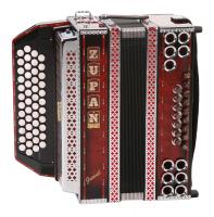 Zupan Juwel IVD Harmonika B-Es-As-Des, Shadow Red - Retoure (Zustand: wie neu)