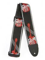 "Gibson Nylon Guitar Strap 2"" Red Logo"