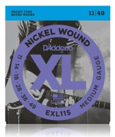 D'Addario EXL115 Medium/Blues-Jazz Rock