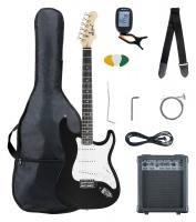 McGrey Rockit guitare électrique ST set complet noir