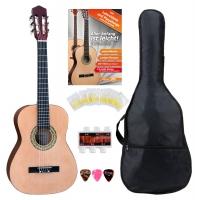 Classic Cantabile AS-861 chitarra classica 3/4 Starter-SET