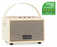 Bennett & Ross BB-820CW Blackmore Junior Bluetooth Akku Lautsprecher Creme-Weiß - Retoure (Zustand: sehr gut)