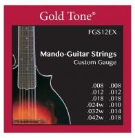 Gold Tone FGS-12EX Mando Guitar Saitensatz für F12