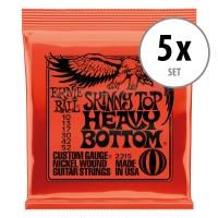 Ernie Ball 2215 Skinny Top/Heavy Bottom - 5er Pack