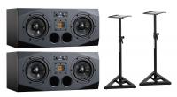 Adam Audio A77X Stativ Bundle