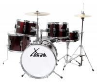 XDrum Session Junior Pro Set de batterie Dark Red (4-9 ans)