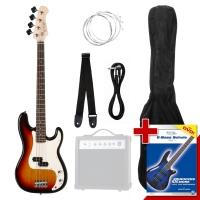 Rocktile Groover's Pack PB E-Bass Sunburst - unvollständig!