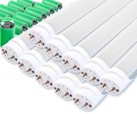 Showlite Néons LED T8W18K45F-1200 1200mm Set de 10 (blanc lumière du jour 4500K)