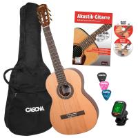 Cascha Stage Series 4/4 Konzertgitarre Bundle