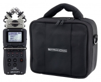 Zoom H5 portabler Audio-Recorder Set mit Recorder-Tasche