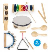 Classic Cantabile Kinderpercussion Starter-Set 13-teilig