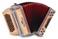 Beltuna Alpstar IV D Harmonika Esche massiv B-Es-As-Des