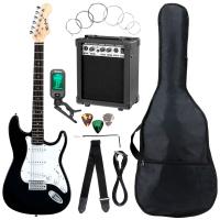 McGrey Rockit E-Gitarre ST-Komplettset Black - Retoure (Zustand: akzeptabel)