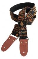 Bourbon Strap Azteca Gitarrengurt Stickerei 85 bis 153 x 5cm