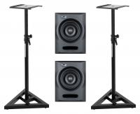 Fluid Audio FX50 Aktives Studiomonitor Stativ Set