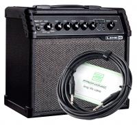 Line6 Spider V 20 MKII Gitarrenverstärker Set