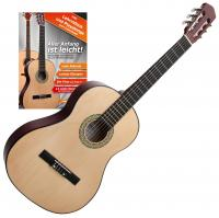 Classic Cantabile AS-851 4/4 Konzertgitarre SET inkl. Gitarrenschule
