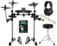 XDrum DD-400 Electronic Drum Set Complete With Headphones, Drum Stool and Sticks